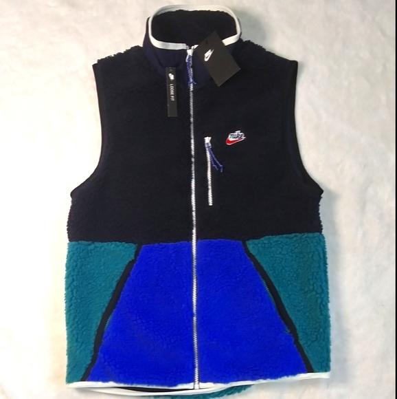 Nike Men's NSW Sherpa Fleece Winterized Vest